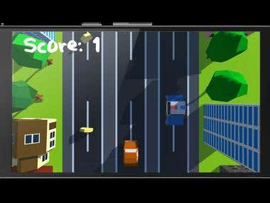 traffic racer 3d game on unity for android