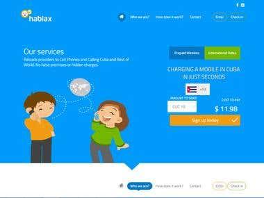 Online Mobile Recharge Website