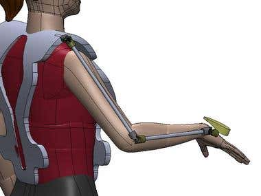 Exoskeleton Arm Design