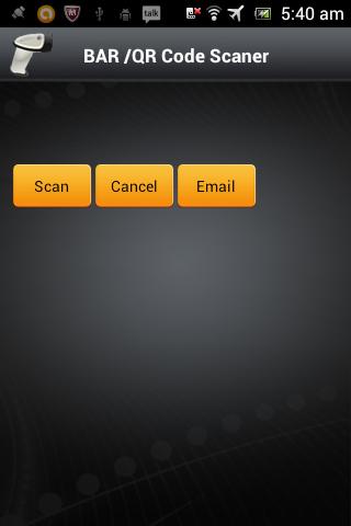 Barcode/QR code scanner