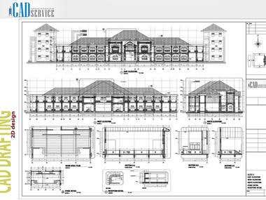 CAD Drafting 2D Design