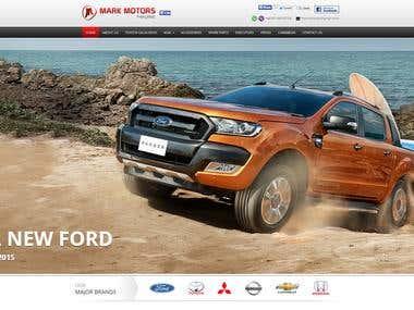 WordPress Website for Car & Accessories
