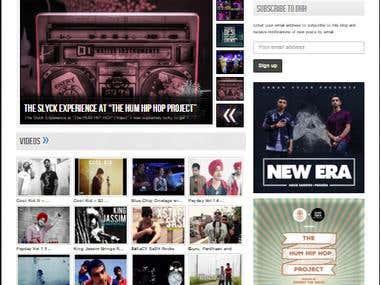 WordPress Website for Music Lover Community