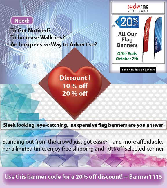 Design an Email advertisement Mock-Up