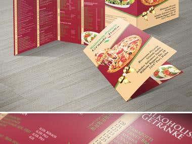 Speisenkarte DIN A5