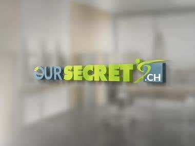 Logo for a customer www.oursecret.ch