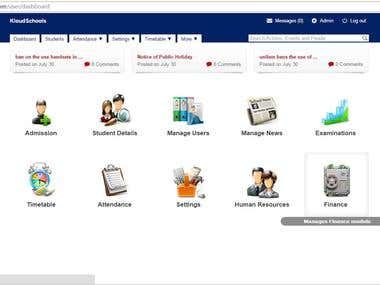 KloudSchools School Managment System