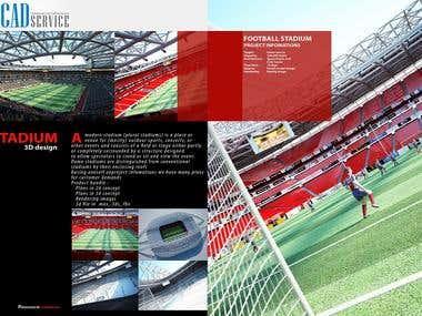 3D Stadium Design
