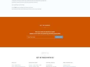 WooCommerce - Goodie Bags Australia - eCommerce  WordPress