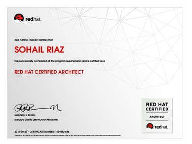 RHCA - Red Hat Certified Architect