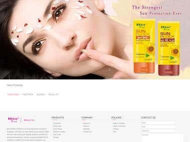 Bio Fresh- Magento Ecommerce