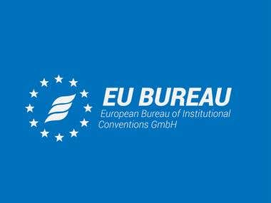 EU BUREAU - Logo Design / Banners Design / Website Design
