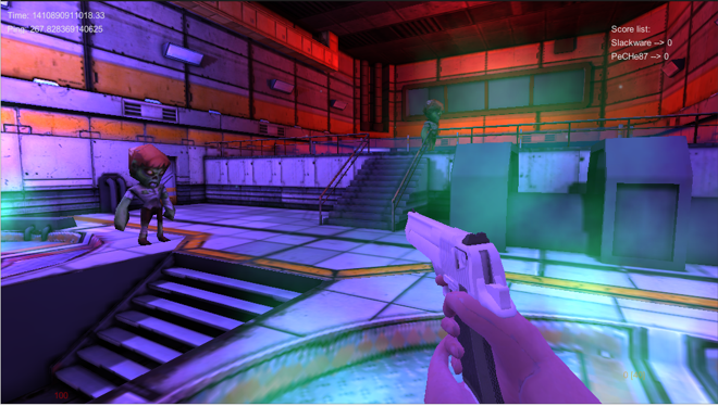Betty Danger – FPS based on Unity3D & SmartFoxServer | Freelancer