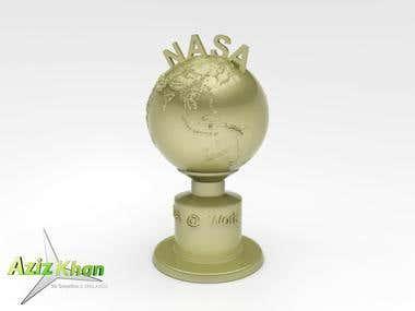 NASA Award Trophies