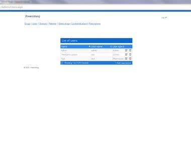 Electronic prescribing software