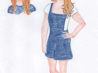Kristin & Mackenzie Concept Art