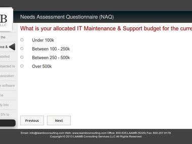 Online Survey Form