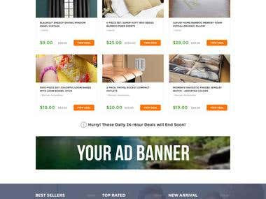 Web design for daily deals