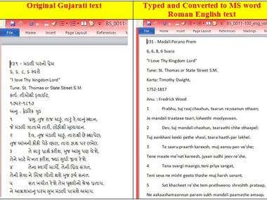 Typing/ Conversion between Indian languages/ fonts