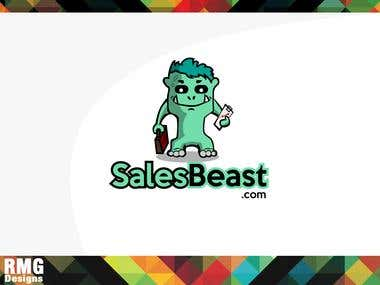 Sales beast logo