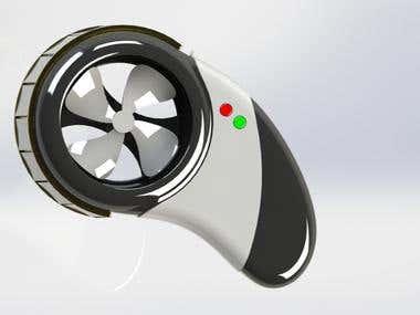 Portable Solar hand Fan