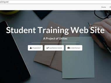 Online Student Training management System