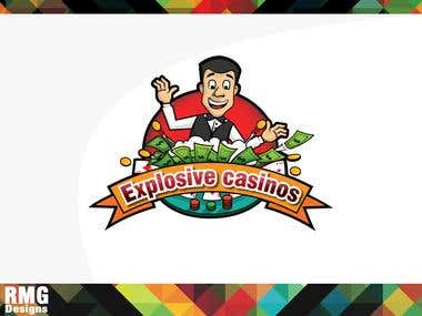 Explosive casino Logo