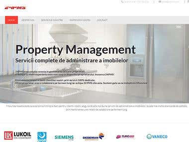 Website redesign for a property management firm