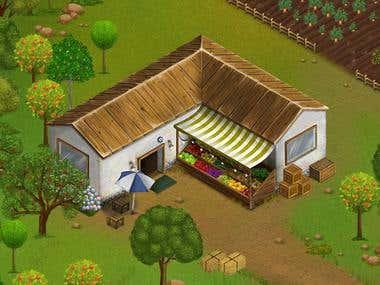 Komşu Köy - Game Art