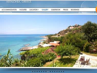 Galley Website for Hotels and Tourists