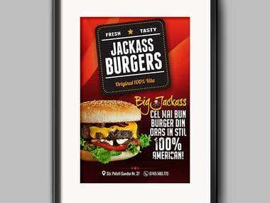 King Burger - poster
