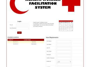 Health Worker Facilitation System