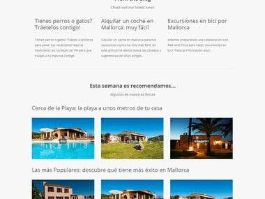 Real Estate webiste