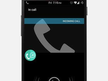FastApp - Reply calls with text message via WhatsApp!