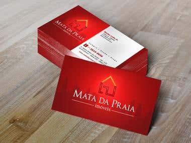 Desenvolvimento de cartão de visita para Imobiliária