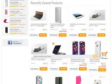 Mobile Gadgets E-commerce Website