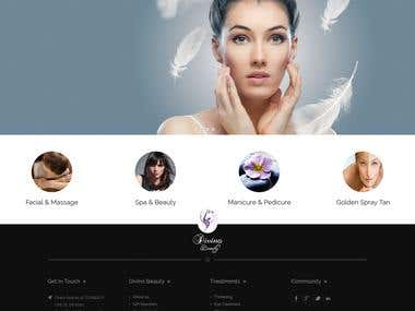 Beauty Salon Wordpress CMS