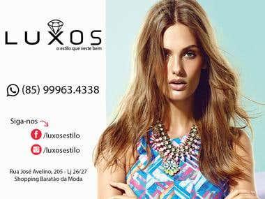 Brochura | Flyer to fashion store