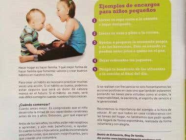 Artículo Cinco encargos que puedo delegar a mi hijo pequeño