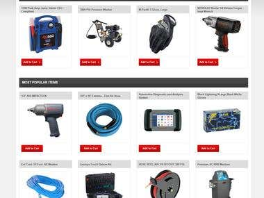 Auto-Parts E-commerce website