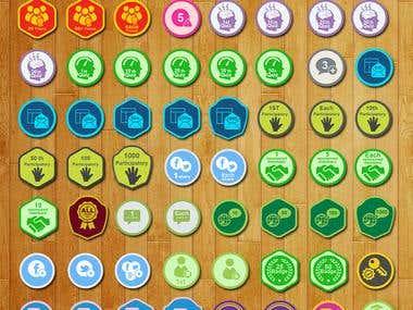 101 Badges