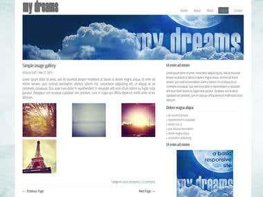 Website in HTML