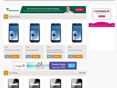 Mobile selling e-commerce website - mymobileciti.com
