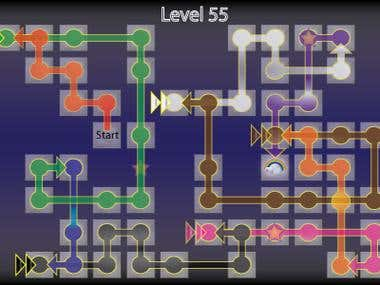 Pin's Penguin Puzzler Sample Level