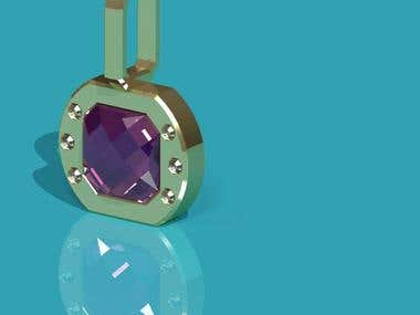 3d pedant jewelry