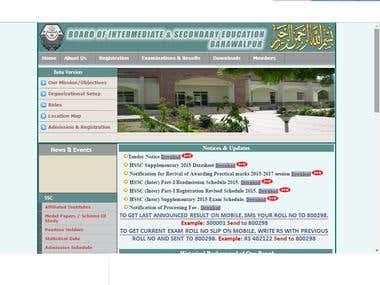 websites which i built