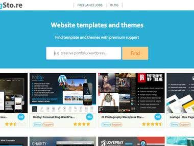 ThemingSto.re - WordPress and HTML templates search engine