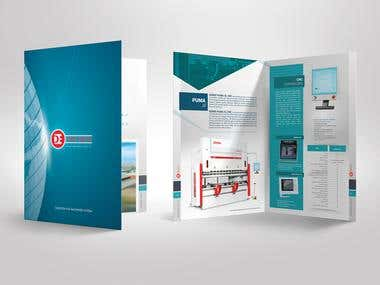 Machinery Company A4 Brochure