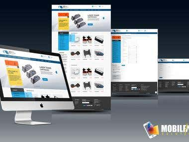 Allied Paper -Responsive  Magento Website