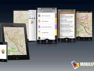 ETA SPOT - Transit App on iOS Platform